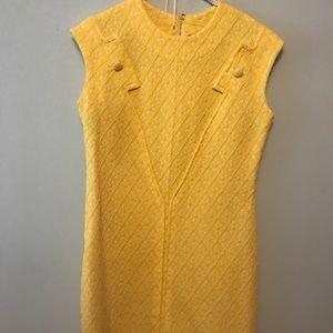 Stunning Yellow Sleeveless Dress